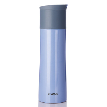 MIGOステアリング保温コップ0.45 L携帯車載用保温ボトル男性女性用水露