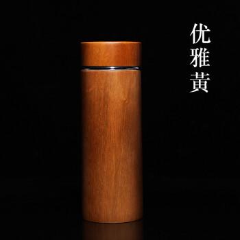 江南の宜興紫の砂内きも保温カップ男女オフィスビジネス直杯の香樟木ハイエンドプレゼント茶分離カップお茶を入れます。大容量の車載カスタマイズは優雅な黄色を描きます。