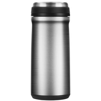 万象(WANXIANG)F 111 450 ml真空車載型保温カップステレオスビジネスカップ男性女性携帯ストレートウォーターカップフィルター付き金属灰