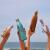 絶叫デザインアメリカSwell木目シリーズスティンレス保温カップ男女携帯ドトーン同型水杯学生カップ柚木500 ml