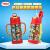 トーマスと友達316スティンレス携帯ハンドルストラップ2本のストローで水コップを保温します。子供と子供の立体列車の頭水筒プレゼントセット420 ml赤