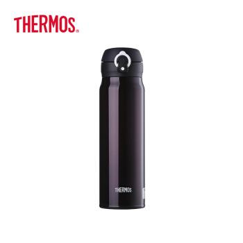 サーキュラー(THERMOS)輸入保温保冷カップステアリング真空漏れ防止車載コップ600 ml JNL-600-DPLコーヒーブラック