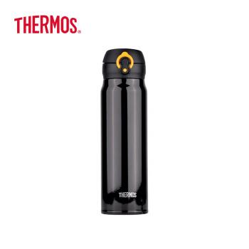 サーキュラー(THERMOS)輸入保温保冷カップボトルスティン真空漏れ防止車載コップJN-603-BKY黒