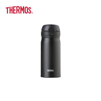 サーキュラー(THERMOS)輸入保温保冷カップポットスティン真空漏れ防止車載コップJN-352-ALBスクラブブラック350 ml