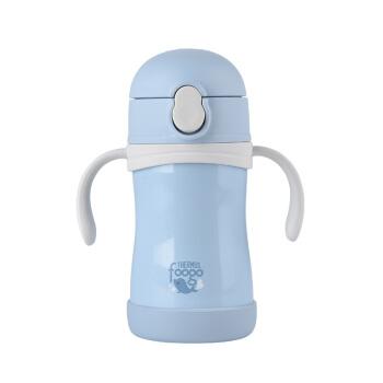 食魔師(THERMOS)foogo子供ストロカップTKFB-280 Sは12ヶ月以上のBL-天藍280 MLを適用します。