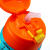 B.DUCK小黄鸭儿童手柄背带两用吸管保温杯 男女宝宝水杯学饮杯水壶 420ml 黄色 FU-17-6074TM