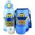 超级飞侠双盖保温杯男女学生スティントラック赤ちゃん水筒三用カップカバー600 mlブルー1101