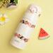 食魔師(THERMOS)保温カップ女性ステアリングカップ携帯カップ可愛い個性的なカップ日本子供保温カップ新商品JNR-400 BEベージュ400 mL
