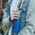 玫莱斯(melais)ストロー保温コップ316ステアリング男女ファッションストカープ成人カップルスポーツカップ大容量水杯600 ml星空ブルー