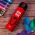 ディズニーランド(DISNEY)ディズニーカップ子供用水筒316スティンレス漏れ防止小学生コップディズニーアメリカリーダー子供水筒直飲コップ500 mlアイアンマン赤
