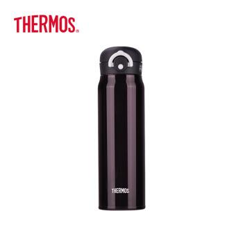 サードパーティ(THERMOS)輸入軽量保冷保温カップステアリングカップアップグレードモデルJNR-600-M-BK黒紫600 ml