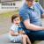 米国のBTIF子供用保温コップストロー付きステアリング幼稚園児用水筒小学生用コップブルー保温コップ【コップセット+ストローブラシ】