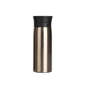 ロックロックロックカップ(lock&lock)保温カップマグカップ水コップ32 mlゴールド320 ml