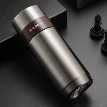 思宝保温カップ思源S 7/S 8/S 9男さんビジネスカップ304スティンレスカップの車内コップに携帯コップ黒450 mlを入れます。