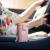 日本ASVELアスパラガス保温カップ男女携帯コーヒーカップ大容量学生用コップカップルカッププレゼント白370 ml