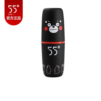 LKK 55度のコップの知能温度を下げる杯の男子学生の創意の贈り物の水コップのIP項-ハッピー熊